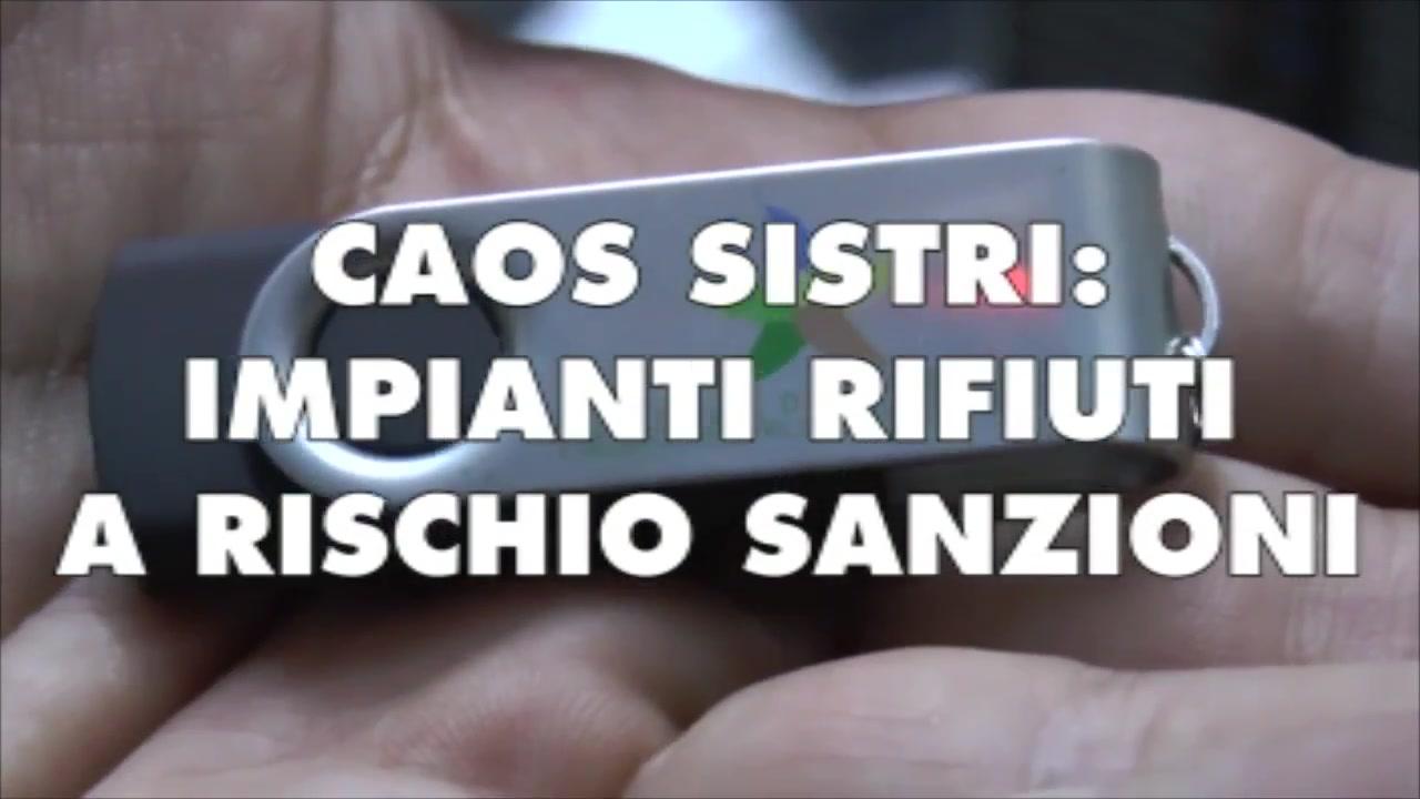 CAOS SISTRI: IMPIANTI RIFIUTI A RISCHIO SANZIONI - TG