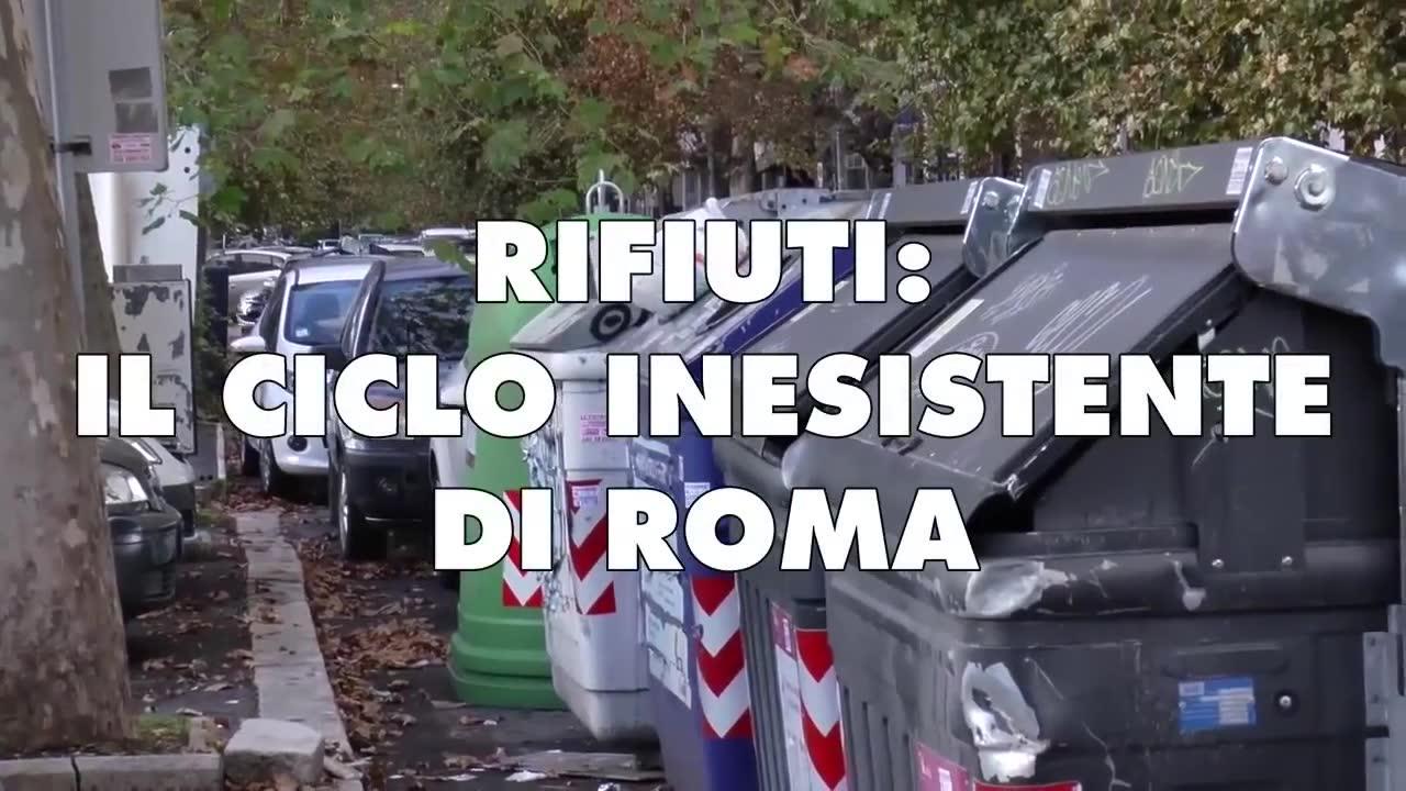 RIFIUTI, IL CICLO INESISTENTE DI ROMA - TG