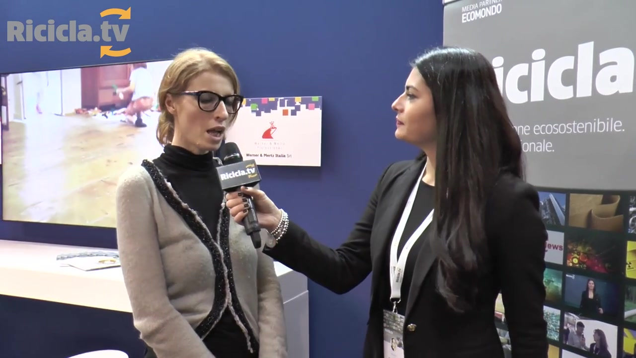 ECOMONDO 2016 - EXNOVOMATERIALS - LA SUPER PLASTICA DI WERNER&MERTZ