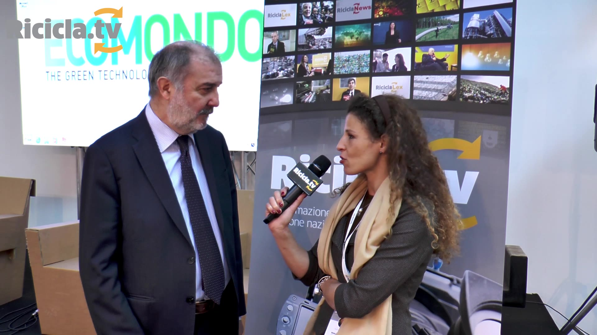 ECOMONDO 2016 - DICIANNOVE ANNI DI CONAI, UN BILANCIO CON IL DG WALTER FACCIOTTO